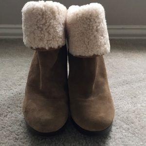 Ugg High Heel Boots